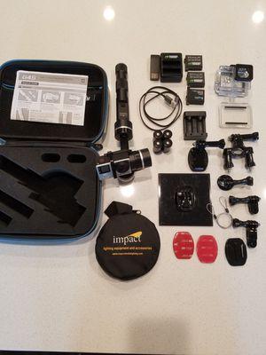 GoPro 4K UHD Hero 4 Black & G4S gimbal +extras for Sale in Las Vegas, NV
