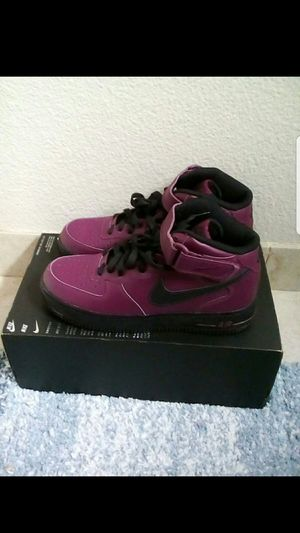 Nike Air Force 1 Mid purple and black size 8.5 men for Sale in San Leandro, CA