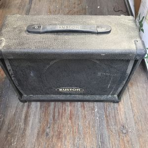 "Kustom KPC10M 10"" PA Monitor Speaker Wedge Cabinet Cab With Horn for Sale in Santa Ana, CA"