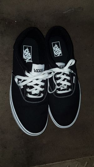 11.5 Classic Black/White Vans for Sale in Portland, OR
