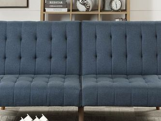 New! Navy Blue Fabric Sleeper Sofa *FREE SAME-DAY DELIVERY* for Sale in Columbia,  MD