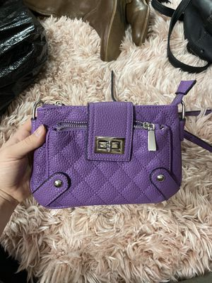 Charming Charlie's purple cross body purse for Sale in Pittsburgh, PA