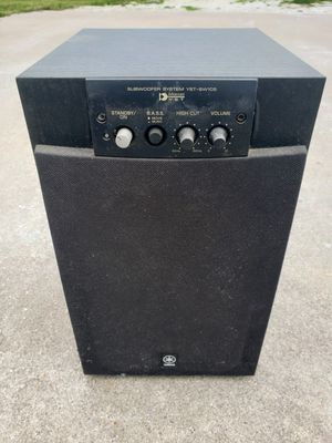 Yamaha subwoofer. for Sale in Bellmead, TX
