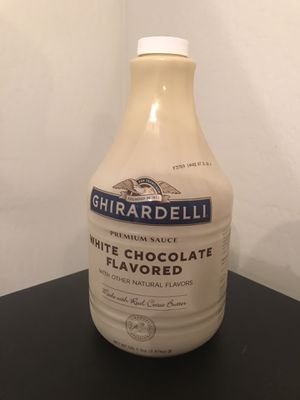 White Chocolate Flavored Sauce for Sale in Glendale, AZ