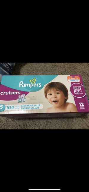 Diapers size 5 new. Pampers. 104 counts. for Sale in Murray, UT