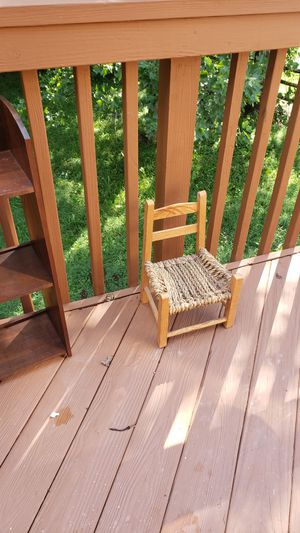 Antique chair for medium/large doll for Sale in Aberdeen, MD
