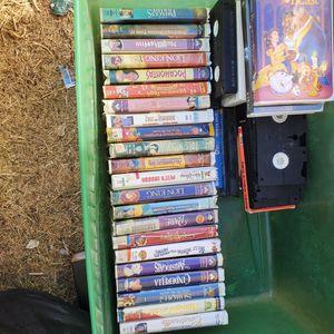 DISNEY & WB VHS MOVIES for Sale in Phoenix, AZ