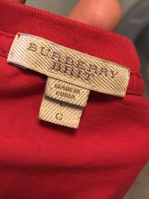 Burberry Brit Men's Tee for Sale in Greensboro, NC