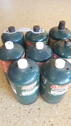 New / Full 16oz propane tanks $1 each for Sale in Chino, CA