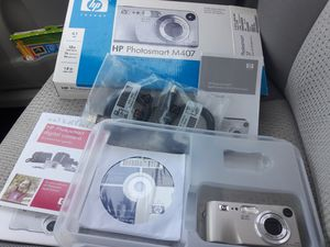 HP Photosmart M407 4MP Digital Camera with 3x Optical Zoom (pp) for Sale in Charlotte, NC