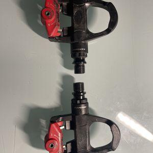 Look Keo Carbon Titanium Pedals Black/Red for Sale in Monterey Park, CA