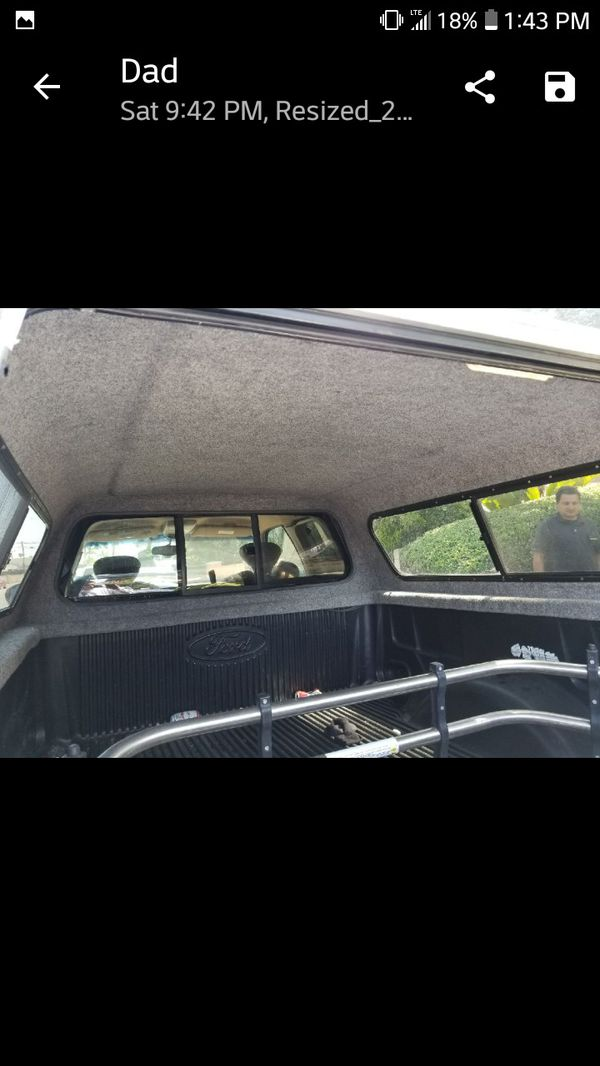 Camper shell Ford f150 for Sale in Garden Grove, CA - OfferUp