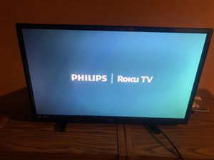 Flat screen PHILIPS Roku TV for Sale in Los Angeles, CA