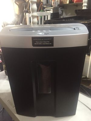 Paper shredder and credit cards for Sale in Ocala, FL