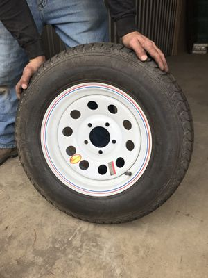 2 Trailer Tires: New, Never Been Used!!! for Sale in Salt Lake City, UT