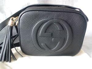 GUCCI DISCO SOHO SHOULDER CROSSBODY BlACK BAG 308364 for Sale in Houston, TX