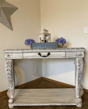 Custom finished sofa table / buffet for Sale in Bonney Lake, WA