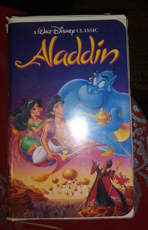 Walt Disney Classic. Aladdin for Sale in Stone Mountain, GA