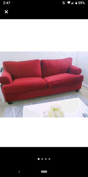 Red Sofa Bed for Sale in North Bethesda, MD