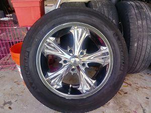 Chrome rims P245/60R18! for Sale in Orlando, FL