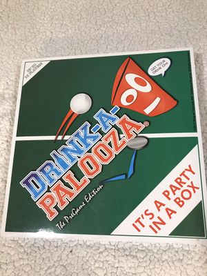 Drink-A-Palooza Drinking Board game for Sale in Dinuba, CA