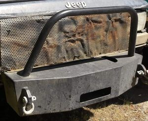 Cherokee stubby winch bumper for Sale in Seattle, WA