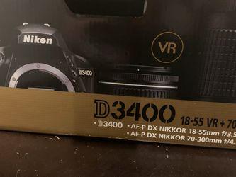 NIKON D3400 for Sale in Murfreesboro,  TN