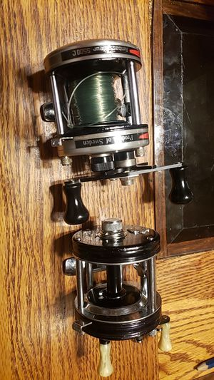 Abu garcia 5500c and 5000c fishing reels for Sale in Joliet, IL