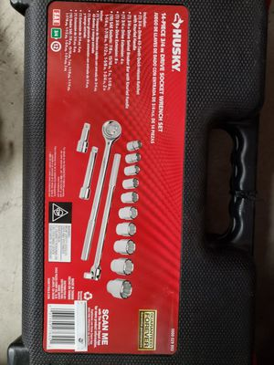 Husky 3/4 Tool Set New for Sale in Schiller Park, IL