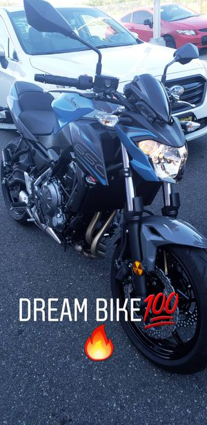 Kawasaki 2019 Storm Cloud Z650 Motorcycle for Sale in North Bergen, NJ