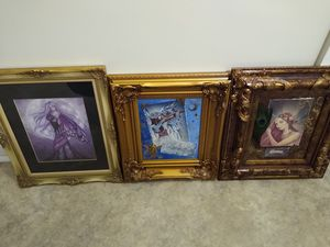 Jessica Galbreth framed fairy art lot for Sale in Waterbury, CT
