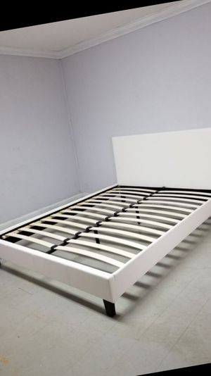 NEW QUEEN SIZE BED FRAME MATTRESS SOLD SEPERATELY AVAILABLE FOR DELIVERY for Sale in Hollywood, FL