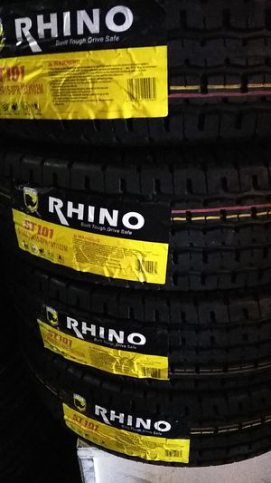 4 new trailer tires 205/75/15 for Sale in Apopka, FL