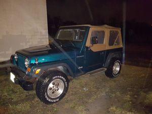 1997 Jeep Wrangler for Sale in Tinton Falls, NJ