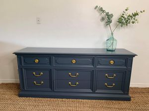 Dresser credenza buffet sideboard entryway console tv stand accent piece bar nursery for Sale in Fort Lauderdale, FL