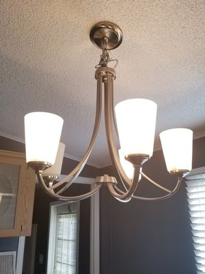 5 light chandelier for Sale in Wake Forest, NC