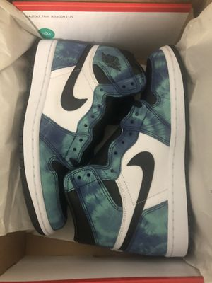 Jordan 1 tie dye sz 8.5W for Sale in Orlando, FL