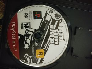 Grand theft auto 3 ps2 for Sale in Gaithersburg, MD