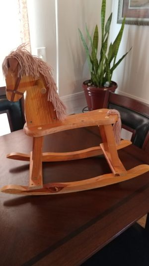 Small wood rocking horse for Sale in Saint Amant, LA