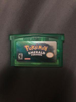 Game boy Advanced Pokemon Emerald Version for Sale in Menomonie, WI