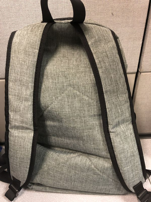 Laptop backpack with headphone and power jack