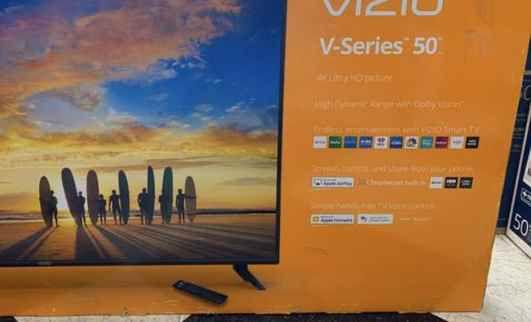 """Vizio 50"""" smart tv ! Liquidation event !! 🙏👌👍🙏👌🙏👍 M6Q"""