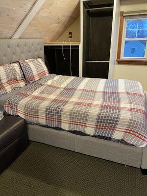 King bed/frame /desk/chair. *Moving sale* for Sale in Glassboro, NJ