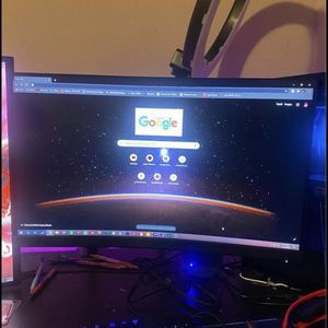 Msi Curved Gaming Monitor for Sale in College Park, GA
