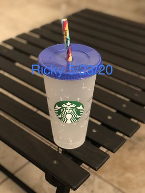New Starbucks Confetti Cup for Sale in East Los Angeles, CA