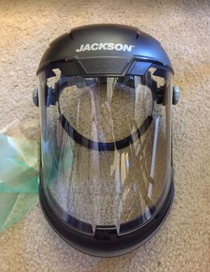 Jackson Safety Maxview Premium Face Shield - New in Box Great PPE for COVID for Sale in West Covina, CA