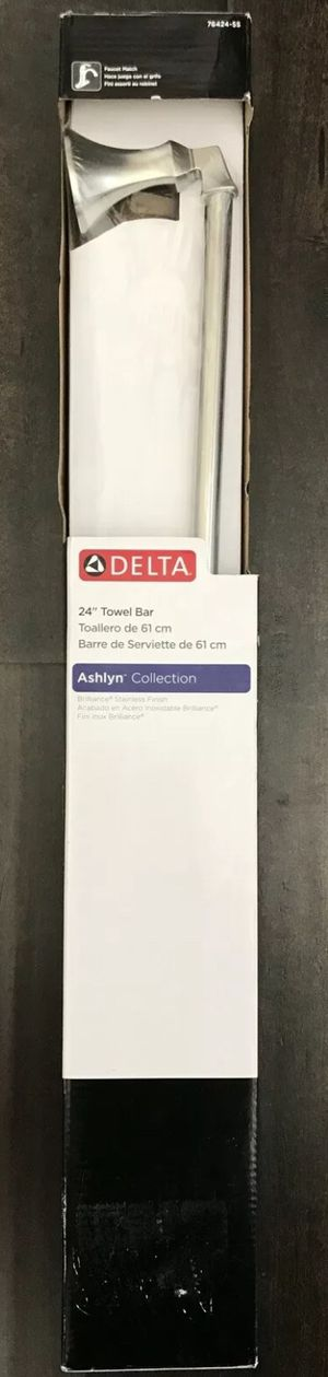 "Delta Ashlyn 24"" Towel Bar in Brilliance Stainless Finish #76424-SS BRAND NEW! for Sale in Hartford, CT"