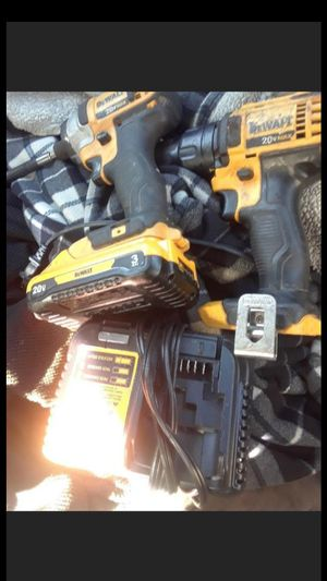 18v Dewalt Drill and Impact 1 battery and charger for Sale in Fairfax, VA