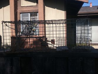 Cage, old trap, 2 1/2 feet long for Sale in San Jose,  CA