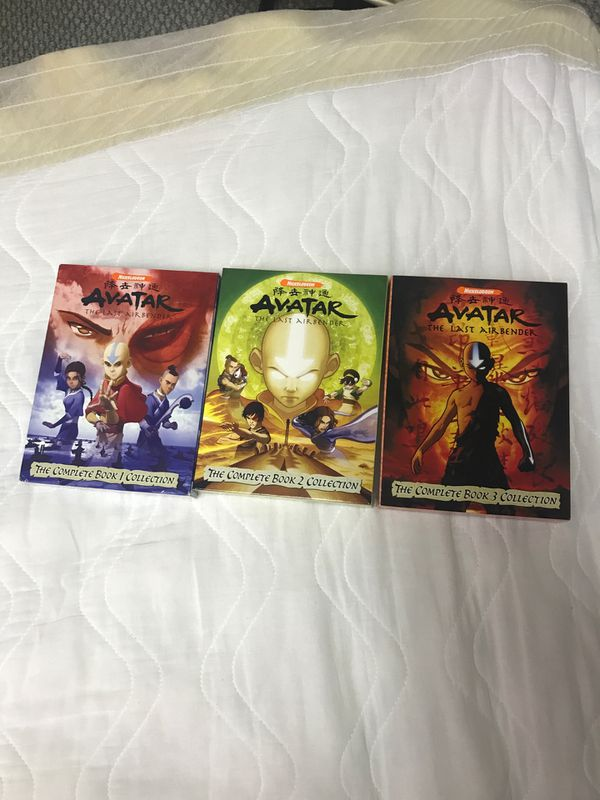 Avatar The Last Airbender Books 1, 2, and 3 DVD